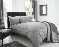 bedroom grey pintuck duvet cover brilliant organic cotton shams feather gray west elm throughout 0