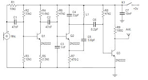 wireless microphone schematic simple fm wireless microphone schematic