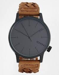 <b>Часы</b> с плетеным ремешком <b>Komono Winston</b> | ASOS