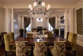 gold color scheme formal dining room decorating ideas