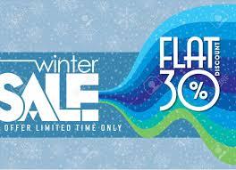 冬販売ポスター デザイン テンプレートや背景創造的なビジネス