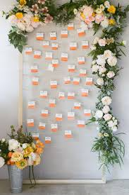 Wedding Seating Chart Frame Diy Wall Seating Chart Frame Ruffled