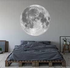 moon wall decal vinyl wall art decor
