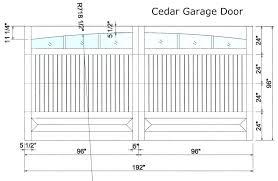 standard double garage door size standard garage size garage doors door dimensions standard front size all standard double garage door size