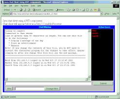 ukh s world chat client using java awt