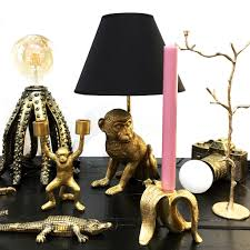 Gold Octopus Table Lamp Store Without A Home