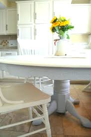 painted dining table chalk paint for kitchen redo ideas how to a room diy painted dining table