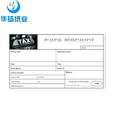 Taxi Invoice Template Receipt Form Doc Beautiful Official Sample