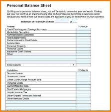 Sample Personal Balance Sheet Personal Balance Sheet Best Of Credit Card Template Images