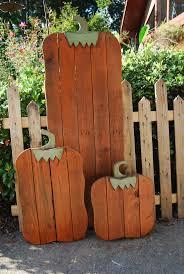 4x4 Wood Crafts Best 25 Wooden Pumpkins Ideas On Pinterest Wooden Pumpkin