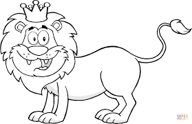 Small Picture Happy Lion King coloring page Free Printable Coloring Pages