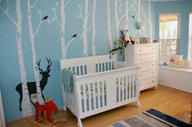 blue woodland nursery project nursery
