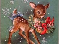 500+ <b>CHRISTMAS DEER</b> ideas | <b>christmas deer</b>, vintage christmas ...