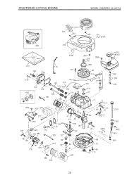 Craftsman 4 cycle engine modelnumber143 026704