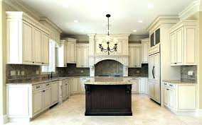 kitchen design off white cabinets. Beautiful Design Off White Distressed Kitchen Cabinets  To Kitchen Design Off White Cabinets O