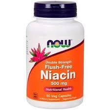 Now Foods, <b>Flush</b>-<b>Free Niacin</b>, <b>Double Strength</b>, 500 mg, 90 Veg ...