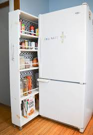 space saving diy pull out pantry
