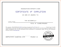 Microsoft Word Certificate Templates certificate of completion free template word Mayotteoccasionsco 94