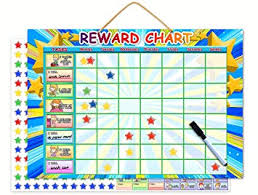 Magnetic Reward Chart Dry Erase Learning Toy Chore Chart