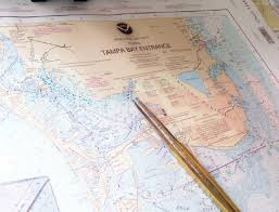 Tampa Bay Marine Chart Noaas National Ocean Service Ocean Images Tampa Bay Chart