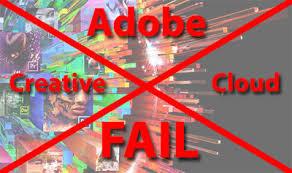 Adobe Creative Suite Comparison Chart Adobe Creative Cloud Fail