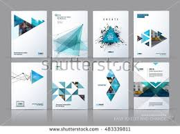 brochure template brochure template layout cover design annual stock vector 483339811