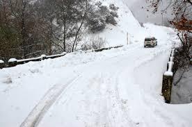 Αποτέλεσμα εικόνας για κλειστοι δρομοι χιονια
