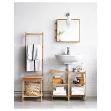 bathroom storage under sink. IKEA RÅGRUND Wash-basin/corner Shelf Bamboo Is A Hardwearing Natural Material. Bathroom Storage Under Sink Z