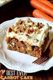 The Best Ever Carrot Cake With Cream Cheese Frosting The Domestic
