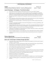Ui Designer Resume 17 User Interface 3 Techtrontechnologies Com