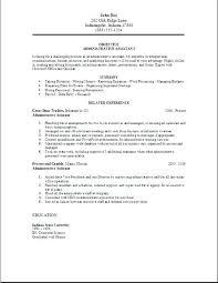 25 Awesome Administrative Assistant Resume Example Bizmancan Com