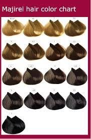 Loreal Hair Dye Chart Majirel Hair Color Chart Instructions Ingredients Hair