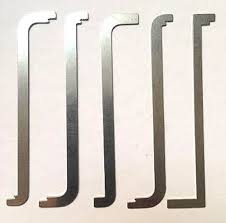 tension wrench. Picture Of 5 Pcs Flat Pry Bar Tension Wrench Set N