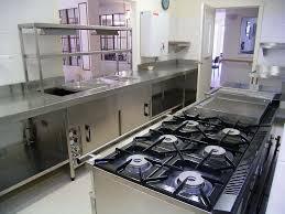 Restaurant Kitchen Tiles Oak Wood Industrial Kitchen Cabinet Stainless Steel Under Cabinet