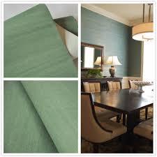 Sisal Grasscloth Muur Papier Groen Behang Voor Woondecoratie Hotel
