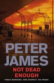 """<b>Quote</b> by Peter James: """"Most of us have one <b>BIG IDEA</b> at some point ..."""