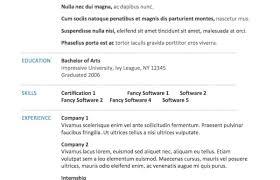 Resume Templates Microsoft Word Mac Professional Free Cv Office