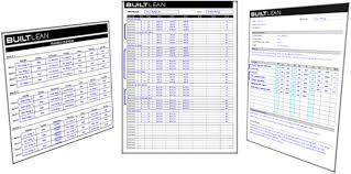 weight training log book free workout log template thats printable easy to use builtlean