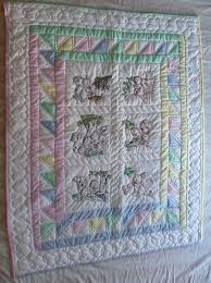 Squirrels Main - Amish Spirit: Handmade Quilts For Sale & Amish Baby Quilt Embroidered Squirrels Full View Adamdwight.com