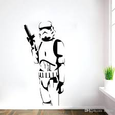 star wars wall decor star wars wall stickers with home decor creative removable bedroom living room stickers wallpaper mural figure art decals art