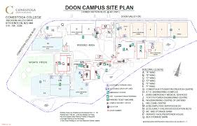 parking lot maps  conestoga college