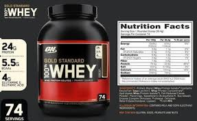 premium optimum nutrition whey protein 100 gold standard
