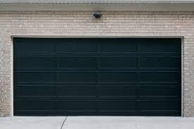 Painting A Garage Door Black