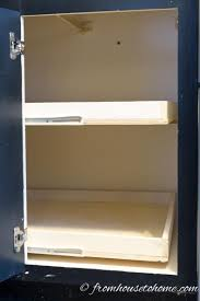 Blind Corner Cabinet Pull Out Shelves How To Build Pull Out Shelves For A Blind Corner Cabinet Part 100 62