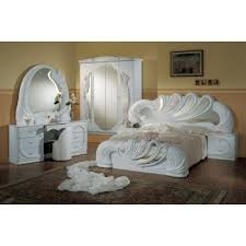 italian furniture bedroom sets. vanity white italian classic 5piece bedroom set furniture sets a
