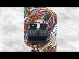 complete universal 12v 24 circuit 20 fuse wiring harness wire kit complete universal 12v 24 circuit 20 fuse wiring harness wire kit v8 rat hot rod