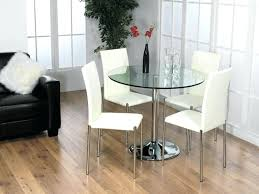 white glass table and chairs white dining tables small round dining within small dining table set for 4 decorating