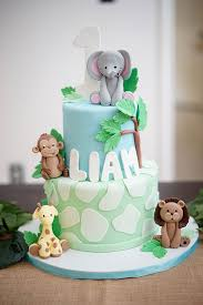 Happy 1st Birthday Liam Party Planning Safari Birthday Cakes