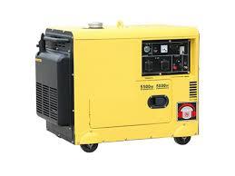 Portable General Diesel Generator 120 Volt 5kw Silent Generator