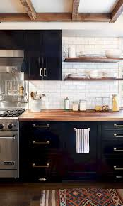 Dark Kitchen Cabinets Design Ideas 59 Marvelous Black Kitchen Cabinets Design Ideas Navy